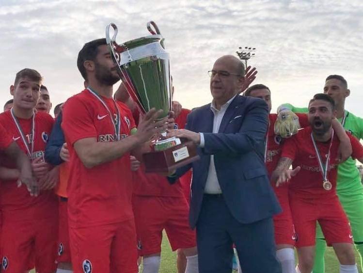 Una zampata di Meloni e il Carbonia si aggiudica la Coppa Eccellenza di calcio