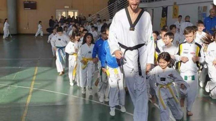 Anche 10 atleti del Virtus Taekwondo Samugheo allo stage con l'olimpionico Sarmiento