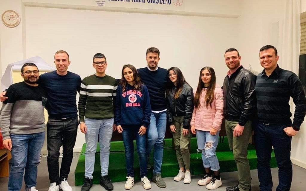 La sezione AIA di Oristano si arricchisce di altri 4 nuovi arbitri di calcio