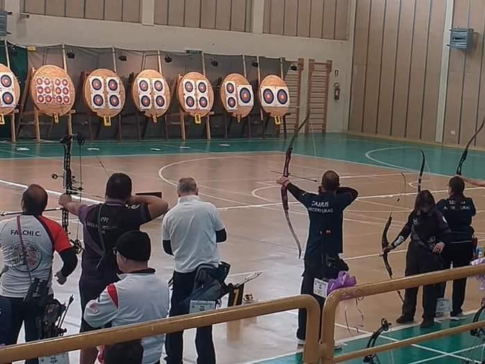 Arborea ospita il Campionato Regionale Indoor di Tiro con l'Arco