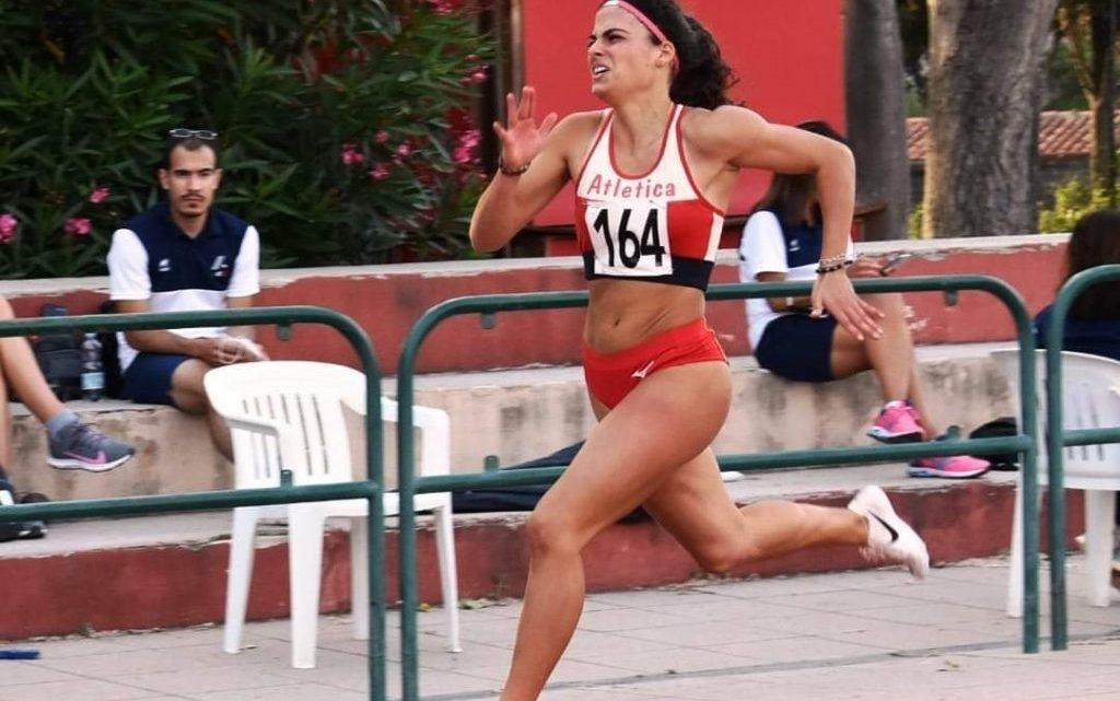 Doppio successoa Sassari di Silvia Arudell'Atletica Oristano nei 100 e 200 metri