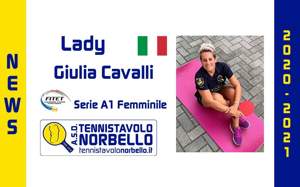 Tennistavolo Norbello. Importante conferma in A1 Femminile, il capitano Giulia Cavalli c'è.