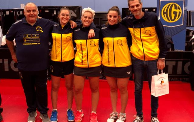 Tennistavolo Norbello. In Francia il primo turno di Coppa Europea 2020 femminile