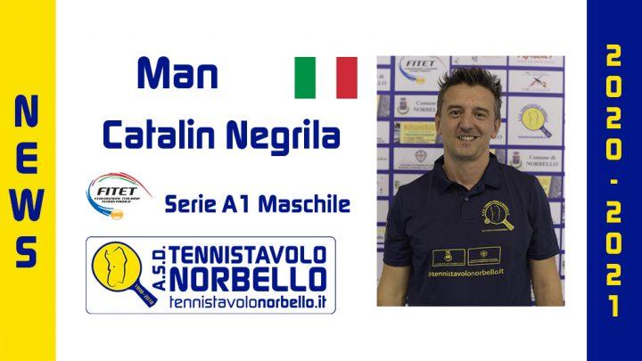 Tennistavolo Norbello. Conferma il capitano Catalin Negrila in A1 Maschile