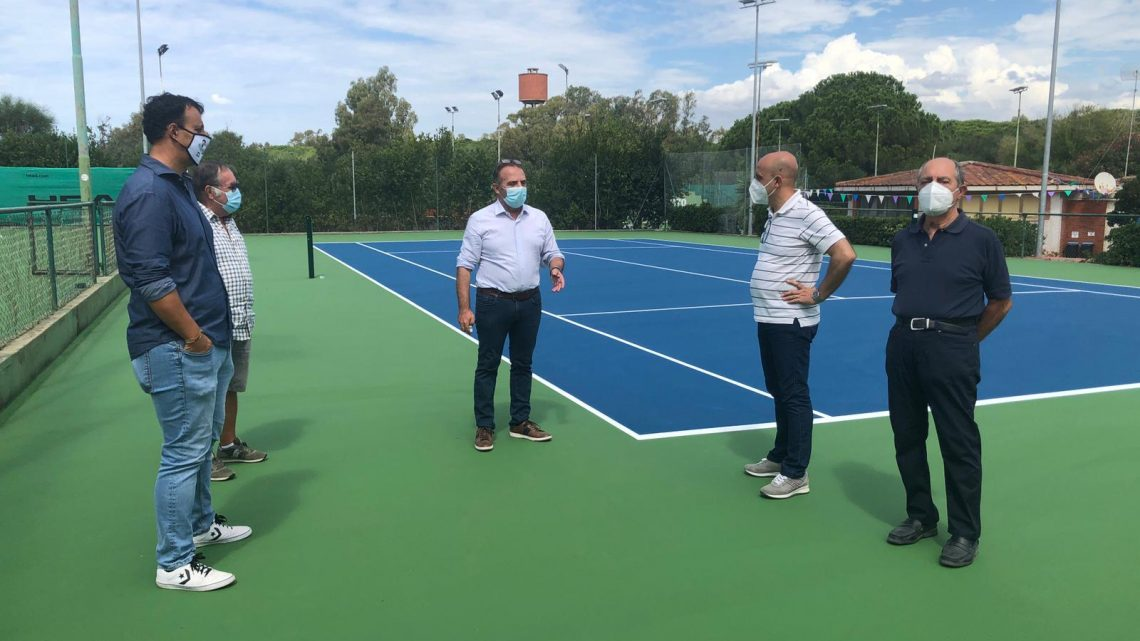 CAMPI DA TENNIS TORREGRANDE/A passo spedito i lavori di completamento della importante struttura sportiva