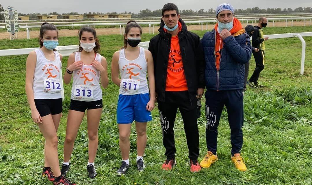 CORSA CAMPESTRE/ Brillanti risultati a Villacidro per la squadra giovanile della DinamicaOristano