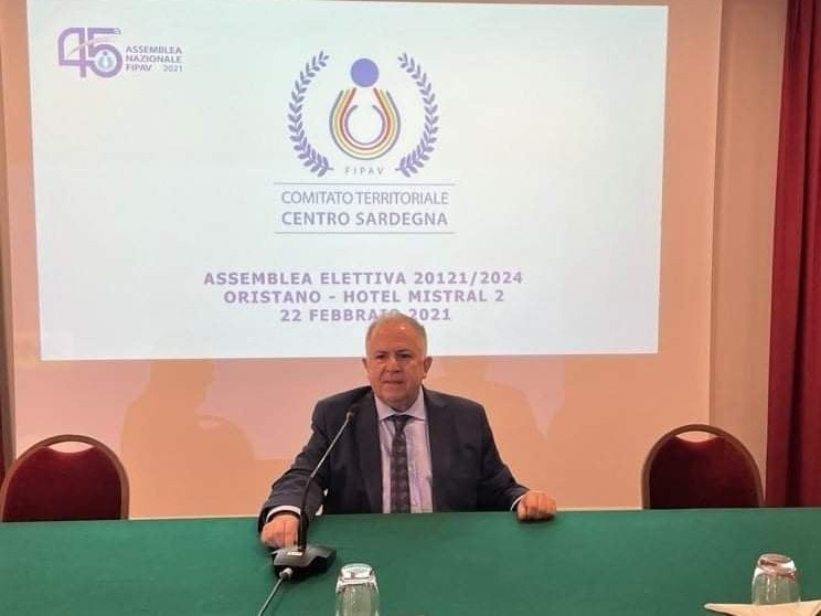 Puddu confermato alla presidenza della Pallavolo nel centro Sardegna: entra in consiglio il macomerese Foddai