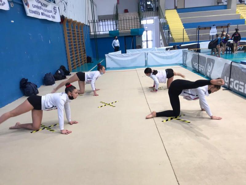 GINNASTICA/ Buon inizio di stagione per le atlete della Dragonfly Ghilarza