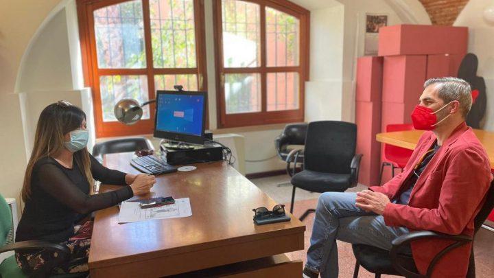 CONI-COMUNE ORISTANO/ Primo incontro ufficiale fra il nuovo delegato provinciale  Carrucciu e l'assessore alla Sport Zedda
