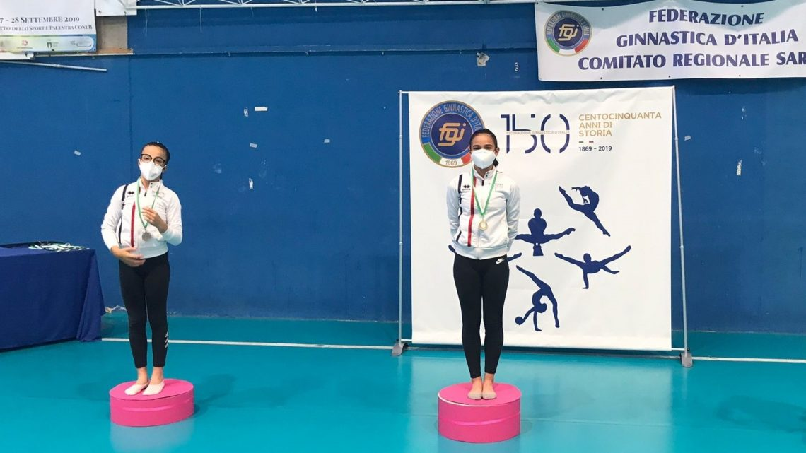 GINNASTICA ARTISTICA/ Una medaglia d'oro, due argenti e un bronzo per la atlete della Dragonfly Ghilarza ai Campionati Regionali