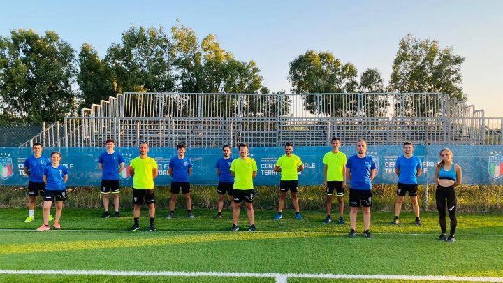 FOTO NOTIZIA / Gli arbitri di calcio oristanesi già al lavoro per preparare la stagione 2021-22