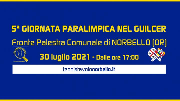 A Norbello la 5° Giornata Paralimpica nel Guilcer il 30 luglio 2021