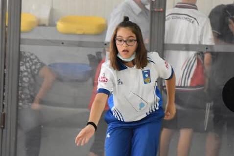 BOCCE/ Ginevra Massidda del Circolo Sa Teula di Ghilarza  campione regionale Under 15