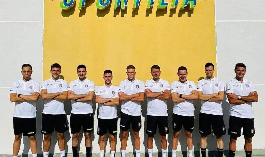 """Anche la """"squadra"""" degli arbitri sardi di calciodella CAN D si prepara per la nuova stagione"""