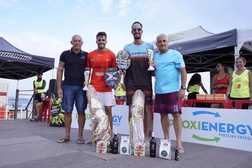 """Il  torneo """"Eolo Beach Contest Proxienergy 2021"""" di Torre Grande  si conferma appuntamento d'eccellenza del Beach Tennis nazionale"""