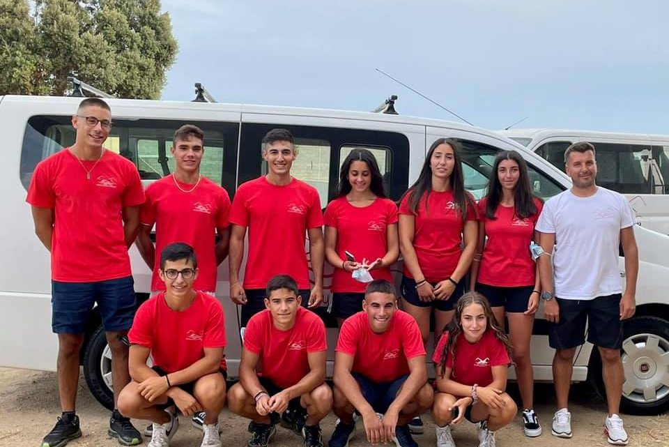 Ai campionati Italiani di canoa velocità in programma a Milano sino al 29 agosto  c'è anche il Circolo Nautico Oristano