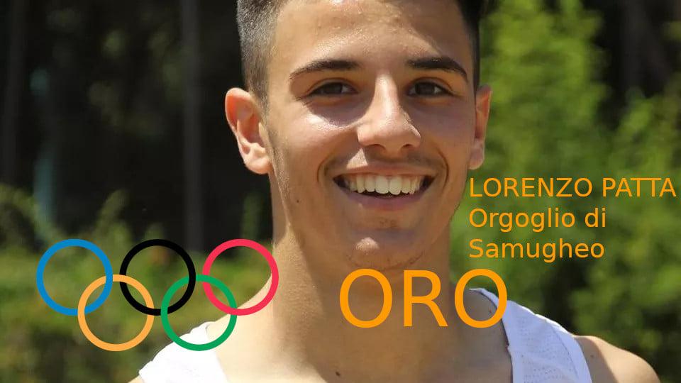 L'ORO DI PATTA/ Oristano e Samugheo festa grande e commozione per il velocista Lorenzo Patta che sale sul gradino più alto delle Olimpiadi