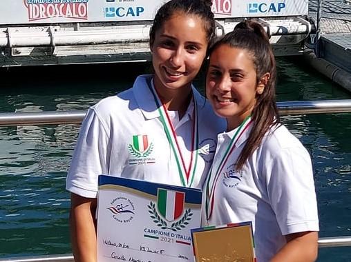 Pioggia di medaglie per il Circolo Nautico Oristano ai campionati italiani di canoa Kayak: presente anche il campione olimpico Manfredi Rizza