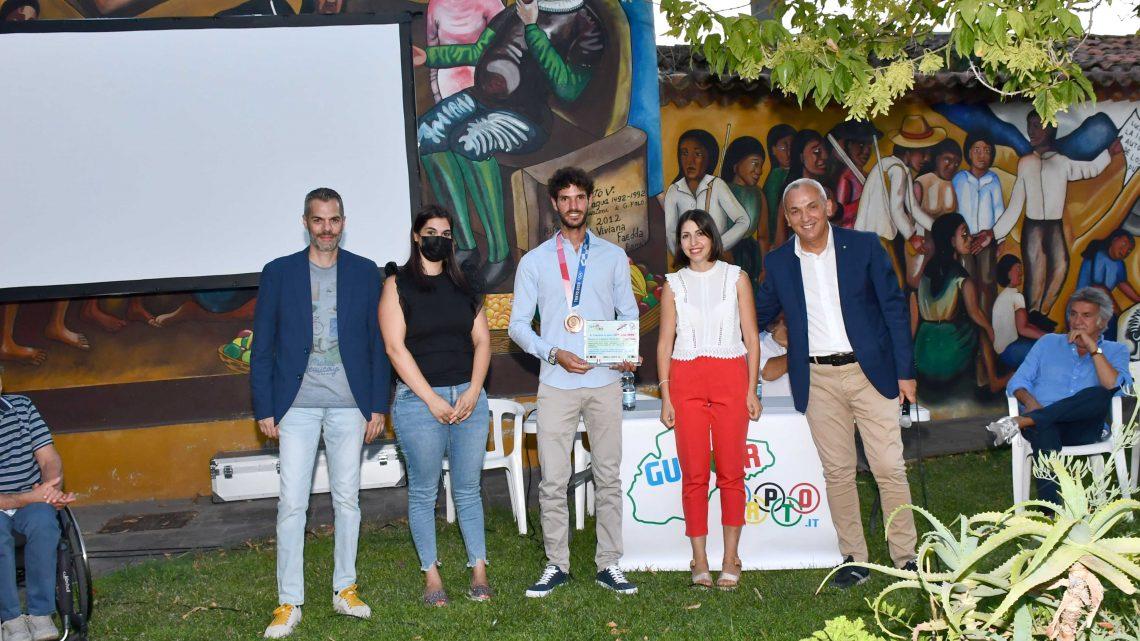 STEFANO OPPO AMBASCIATORE DELLO SPORT/ Il campione azzurro ha ricevuto il riconoscimento dalla nostra testataper i valori positivi che trasmette ai giovani