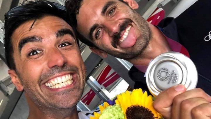 SELFIE GUILCERSPORT/ La felicità è il sorriso argento olimpico di Manfredi Rizza e Stefano Loddo