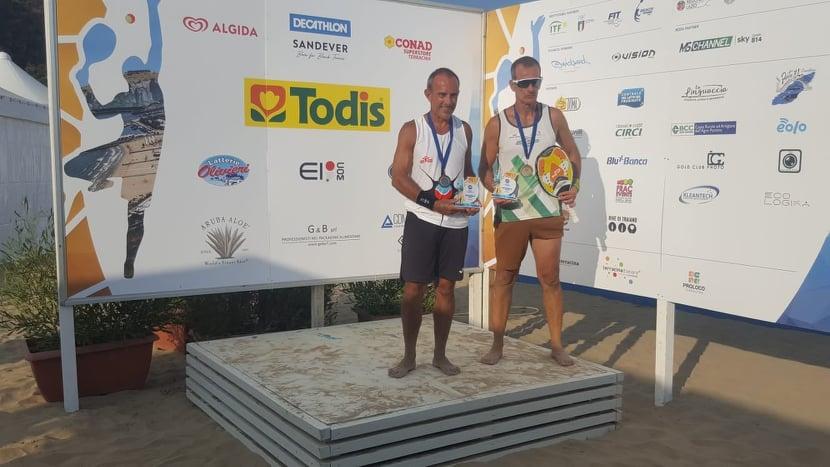 BEACH TENNIS/ L' oristanese Alberto Tamponi dell'Eolo Torregrande campione del mondo Over 50