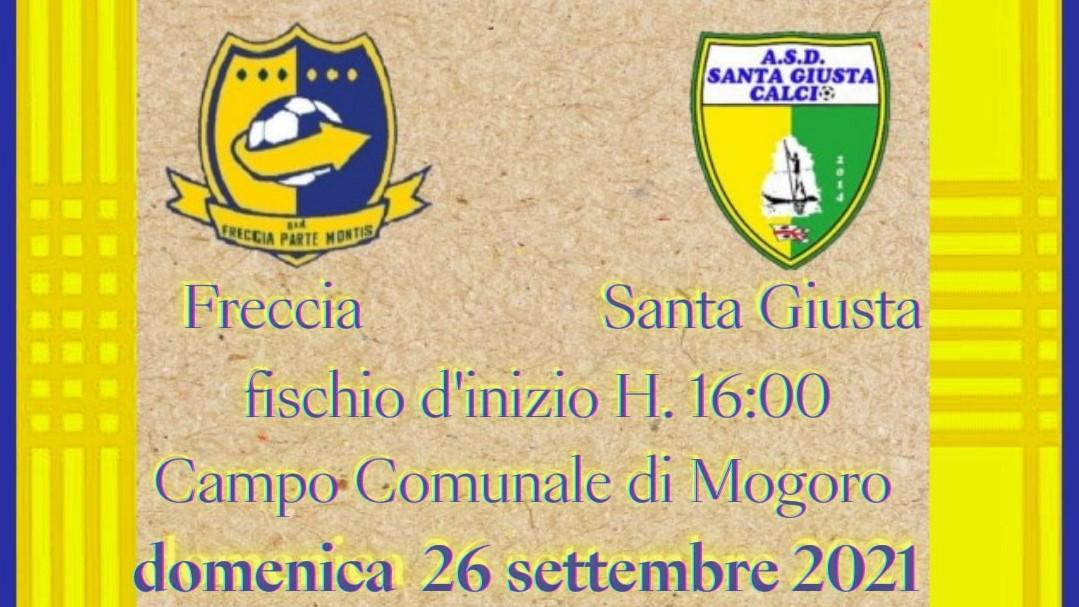 E' GIA' DERBY/ Prima sfida tutta oristanese all'esordio in 1A Categoria girone B fra Freccia Mogoro e Virtus Santa Giusta