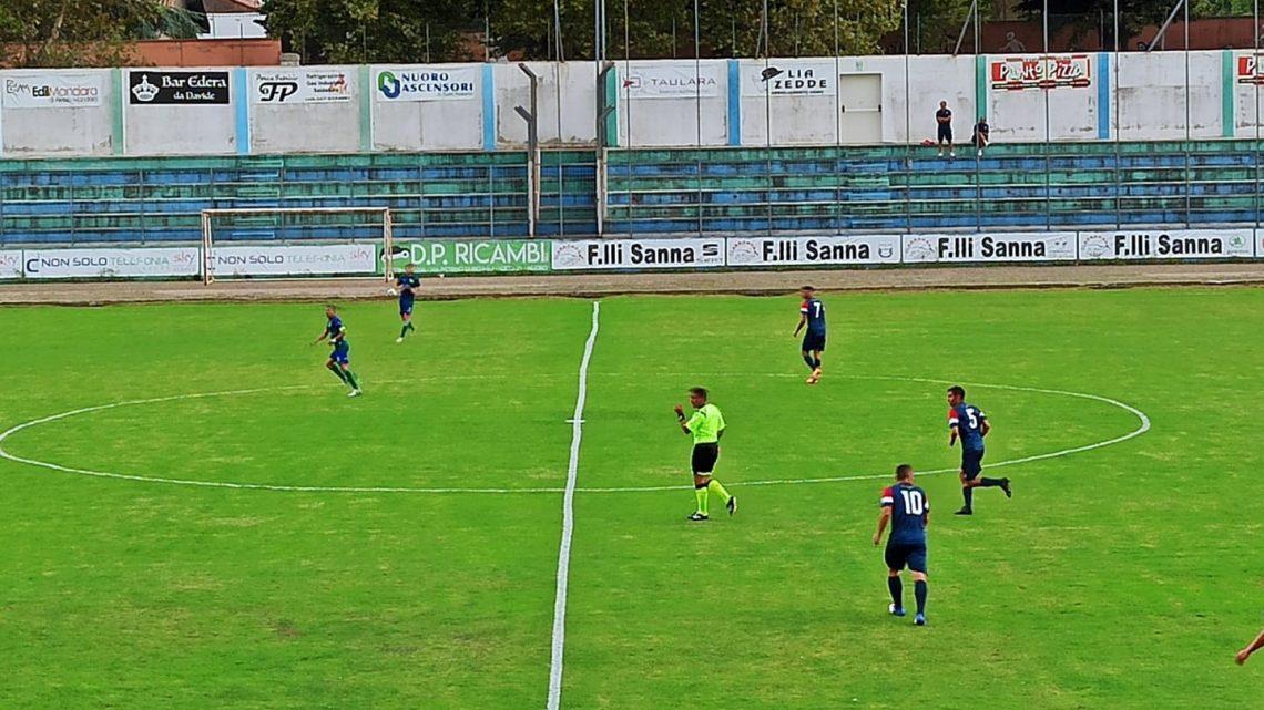 CALCIO ECCELLENZA/ La Nuorese fa la partita ma non punge e la Ferrini si porta a casa i tre punti con le reti di Podda ed Argiolas