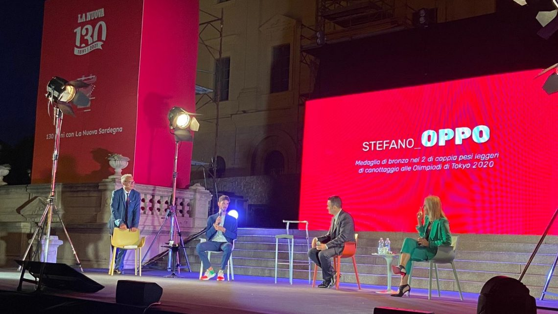 STEFANO OPPO/ Il bronzo olimpico oristanese ospite a Sassari per i  130 anni della Nuova Sardegna