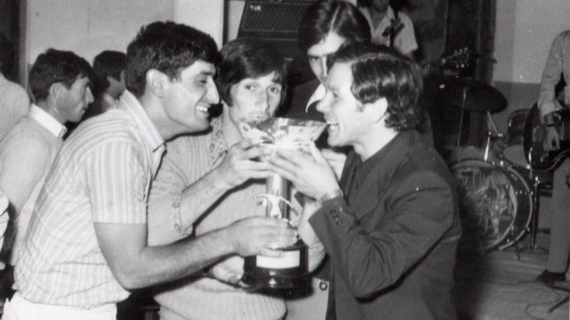 Mondo dello sport in lutto per la scomparsa di Livio Gagliardi già portiere del Ghilarza calcio a cavallo fra gli anni 60 e 70