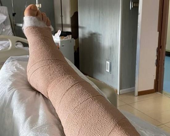 AUGURI GIANLUCA DELIGIA!/ Operato oggi lo sfortunato giocatore del Samugheo che aveva riportato la frattura della tibia e del perone