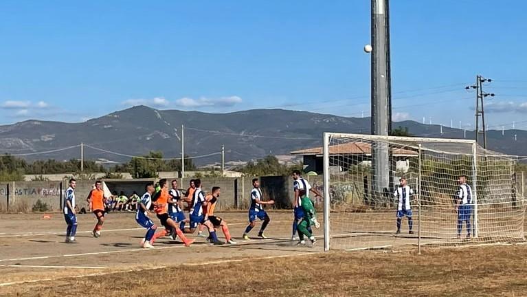 CALCIO 2A CATEGORIA F/ Un gol di Alessandro Sanna della Narboliese decide il  big match di Simaxis